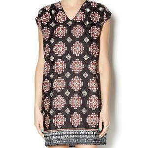 Freeeway dress by Anthropologie black pattern S